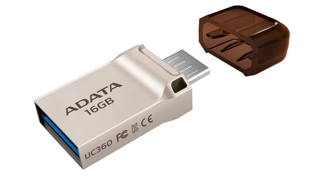 ADATA UC360 OTG Flash Memory - 16GB