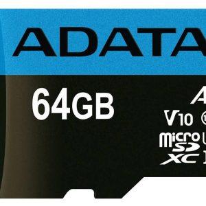 ADATA Premier V10 A1 UHS-I Class 10 100MBps microSDXC 64GB