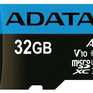 ADATA Premier V10 A1 UHS-I Class 10 100MBps microSDHC 32GB