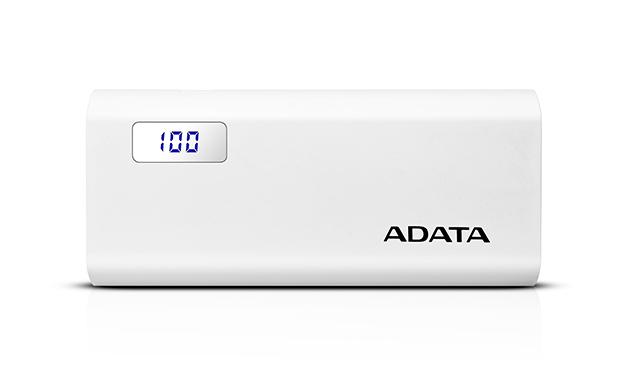 شارژر همراه ای دیتا مدل P12500D ظرفیت 12500 میلی آمپر ساعت