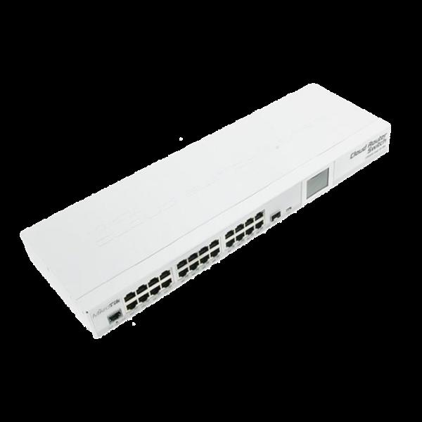 سوییچ 24 پورت میکروتیک مدل CRS125-24G-1S-2HnD-IN